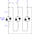 Thyristor Controlled Reactor circuit.png