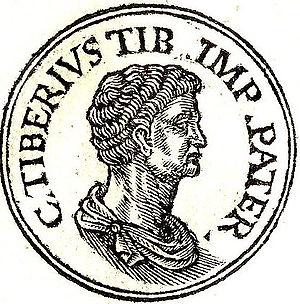 Tiberius Claudius Nero (praetor 42 BC) - Tiberius Nero from Guillaume Rouillé's Promptuarii Iconum Insigniorum