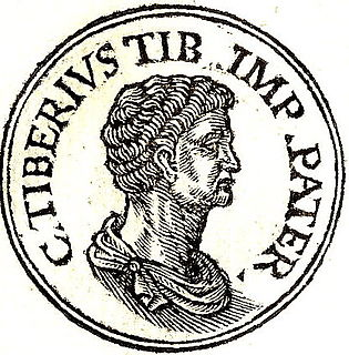 Tiberius Claudius Nero (father of Tiberius Caesar) Politician and father of Roman emperor Tiberius (85 BC-33 BC)