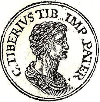 Tiberius Claudius Nero (praetor 42 BC) - Tiberius Nero from Guillaume Rouillé's Promptuarium Iconum Insigniorum