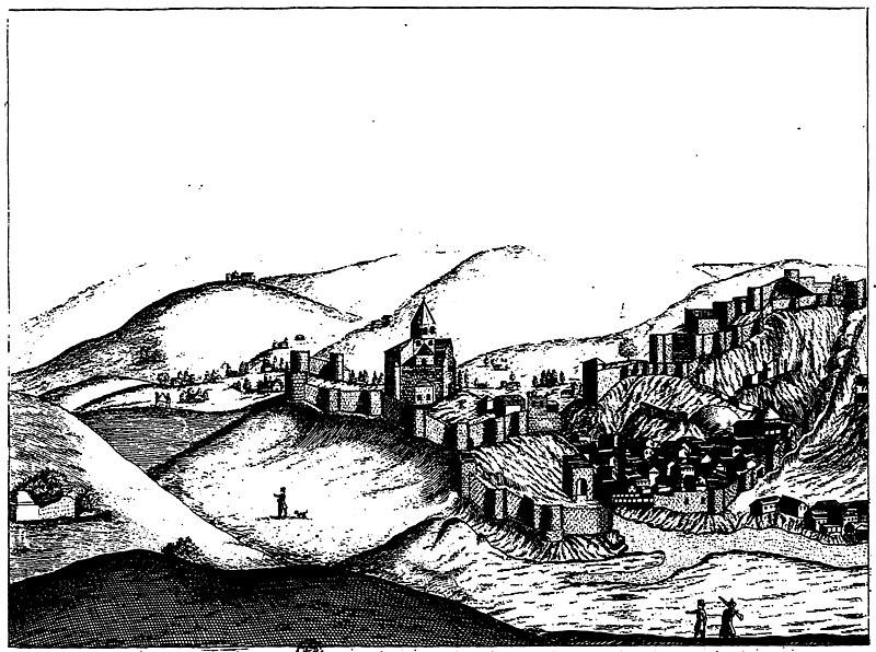 File:Tiflis, by Chardin, 1671 second version a.jpg