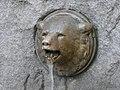 Tilikum Place Chief Seattle statue - bear 01.jpg
