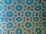 Tiling - Mosque of Hassan Modarres - Kashmar 14.JPG