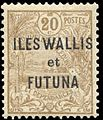 Timbre Wallis et Futuna 1920 - 20 centimes.jpg