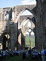 Tintern Abbey used as it used to be ... - geograph.org.uk - 153899.jpg
