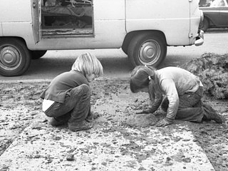 Tiny playground (rather playboard), Berkeley, Jan 1970.jpg