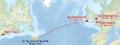 Titanic voyage map.png