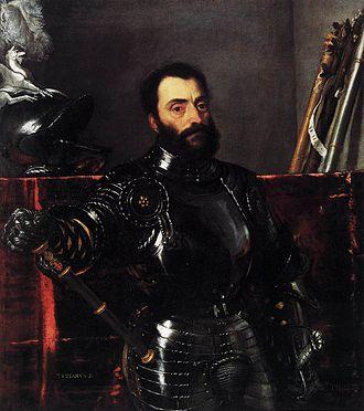 Della Rovere - Image: Titian Portrait of Francesco Maria della Rovere, Duke of Urbino WGA22982