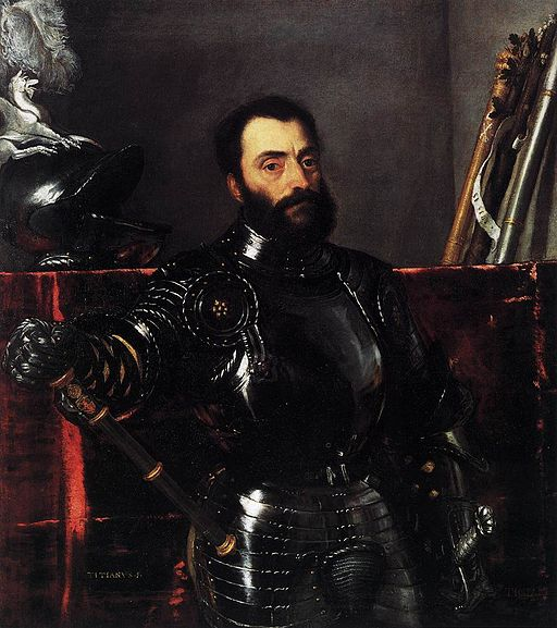 Titian - Portrait of Francesco Maria della Rovere, Duke of Urbino - WGA22982
