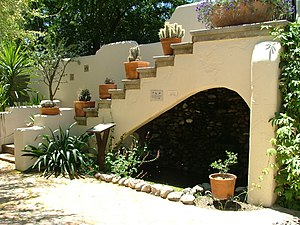 Casas Adobes, Arizona - Garden in Tohono Chul Park