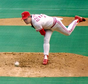 Tom Browning - Browning pitching for Cincinnati in 1991