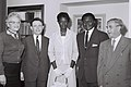 Tom Mboya honeymoon Tel Aviv 1962.jpg