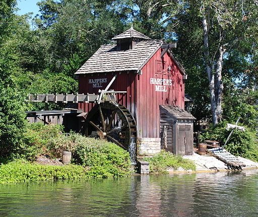 Tom Sawyer Island Harpers Mill