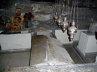 Church of Saint Lazarus, Larnaca - Tomb of Saint Lazarus in the Church of St. Lazarus