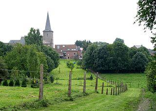 Tongrinne Village in Namur, Belgium