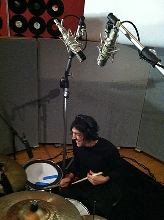 Tony Cupito - Recording drums in January 2012