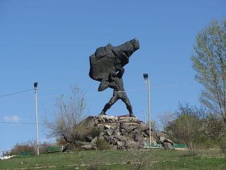 Tork Angegh - Monument to Tork Angegh in Yerevan, Armenia. Sculptor: Karlen Nurinjanyan.
