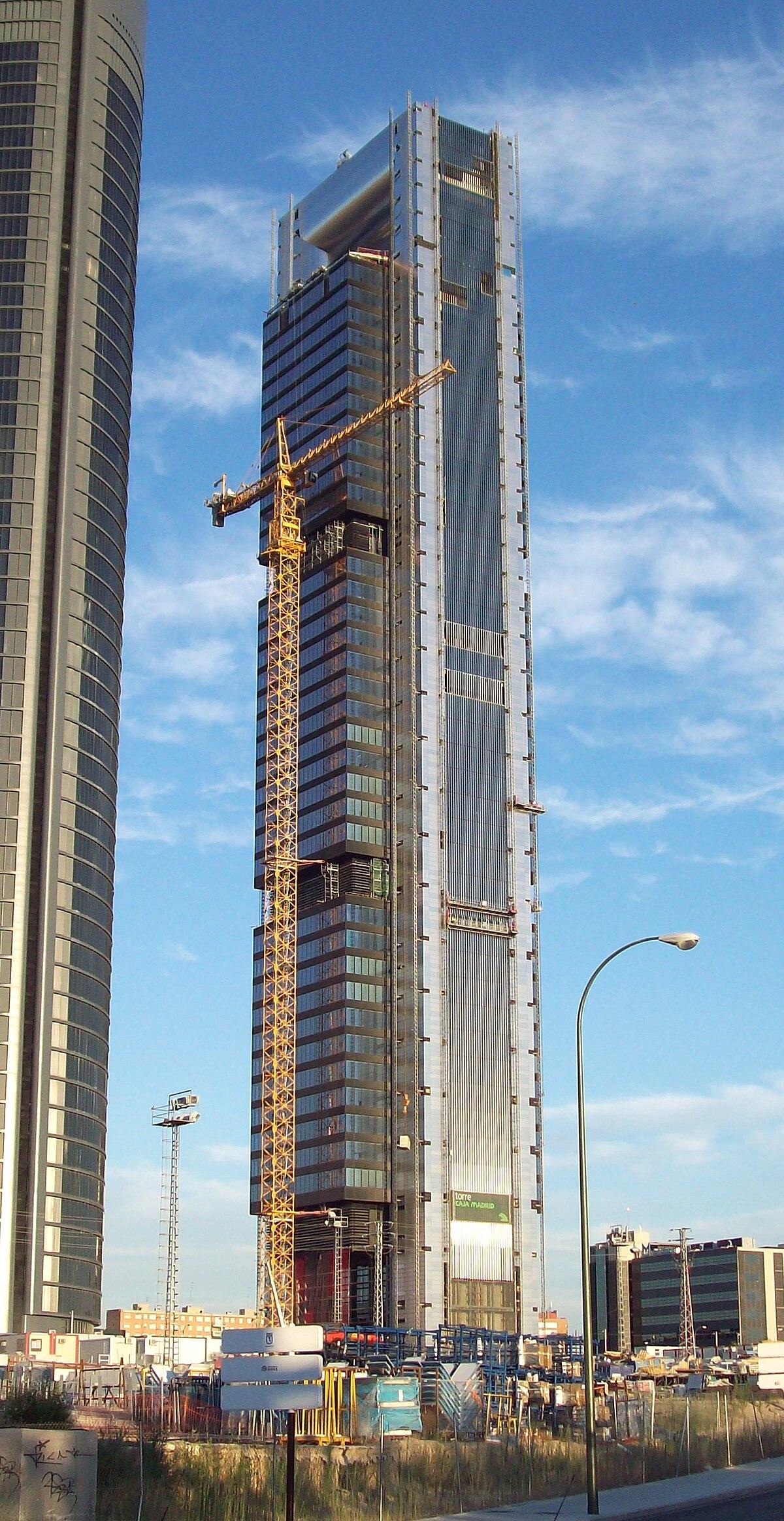 Torre caja madrid wikipedia bahasa indonesia - Caja de arquitectos madrid ...