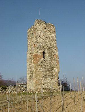 Gattinara - Castelle tower