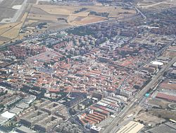 Aerial view of Torrejón de Ardoz
