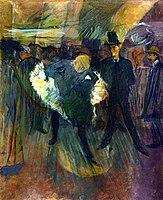 Toulouse-Lautrec - La Goulue and Boneless Valentin, 1887.jpg