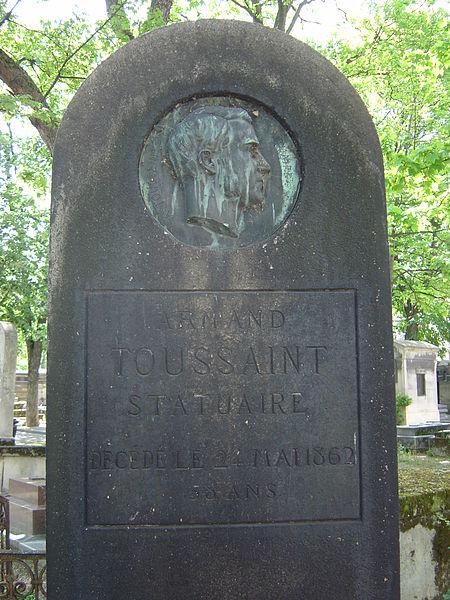Fichier:Toussaint, Armand (cimetière de Montmartre).JPG