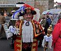 Town crier Tony Appleton, Bury St Edmunds, UK - 20101128-03.jpg