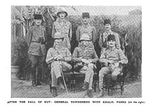 Charles Vere Ferrers Townshend - Townshend and Halil Pasha after the fall of Kut