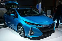 Retail Deliveries Of The Second Generation Prius Prime Began In November 2016