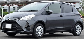 Toyota Vitz Motor vehicle
