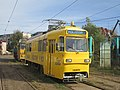 Track grinding car of the RATB in Victoria tram depot.jpg