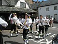 Traditional dancing by the Yarn Market - geograph.org.uk - 925237.jpg