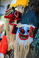 Traditional romanian folk masks. Bucharest, Roamnia, Southeastern Europe.jpg
