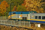 Trainspotting VIA -66 to Montreal headed by GE P42DC -903 and banked by EMD F40PH-2 -6437 (8123597866).jpg