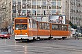 Tram in Sofia near Macedonia place 2012 PD 052.jpg