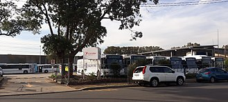 Transdev NSW - Transdev bus depot in Taren Point