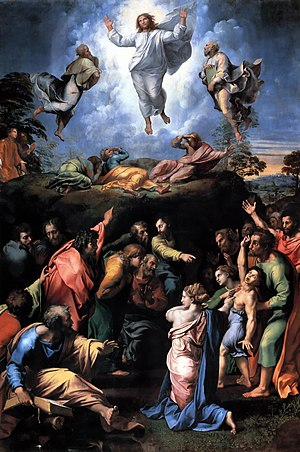 1520 in art - Raphael's Transfiguration as left at the artist's death this year