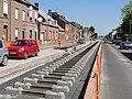 Travaux de la branche vers Vieux-Condé de la ligne B du tramway de Valenciennes en mai 2012 (122).JPG