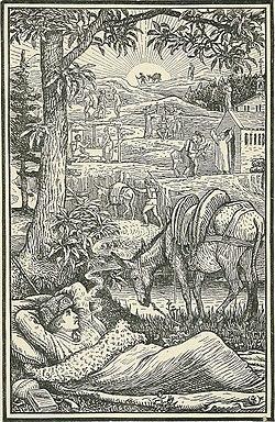 Image illustrative de l'article Voyage avec un âne dans les Cévennes