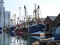 Trawlers Moored In Shoreham Harbour - geograph.org.uk - 1013583.jpg
