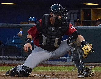 Trevor Brown (baseball) - Image: Trevor Brown on August 25, 2015