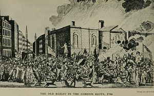 Thief-taker - The Old Bailey in the Gordon Riots, 1780