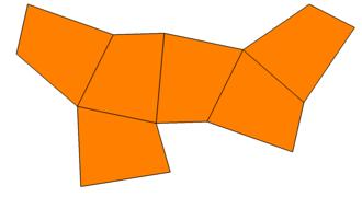 Trigonal trapezohedron - Image: Trigonal trapezohedron gyro net