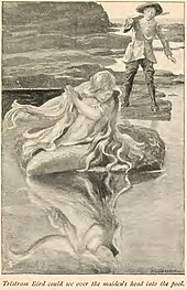 Illustration from North Cornwall fairies and legends of the Mermaid of Padstow