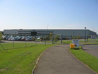 Hinckley - The Triumph Motorcycle Factory at Hinckley