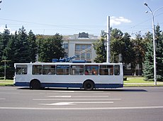 Trolleybus in Homel, Belarus - 002.jpg