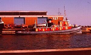 Tugboat G.W. Rogers in Toronto in 1976.jpg