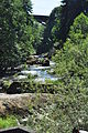 Tumwater, WA - looking up Deschutes River from near Lower Tumwater Falls 01.jpg