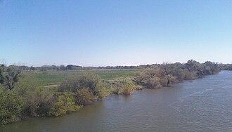 Tuolumne River - Tuolumne River in Modesto