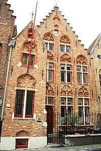 Twee diephuizen- pastorie van de Sint-Jacobsparochie - Moerstraat 50 - Brugge - 29492.JPG